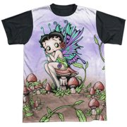 Fairy Mens Sublimation Shirt with Black Back