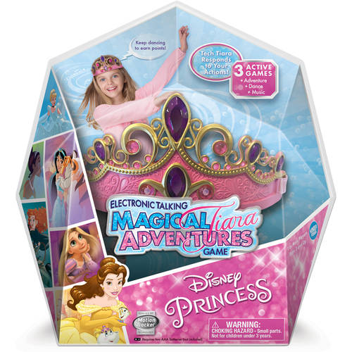 Disney Princess Electronic Talking Magical Tiara Adventures Game