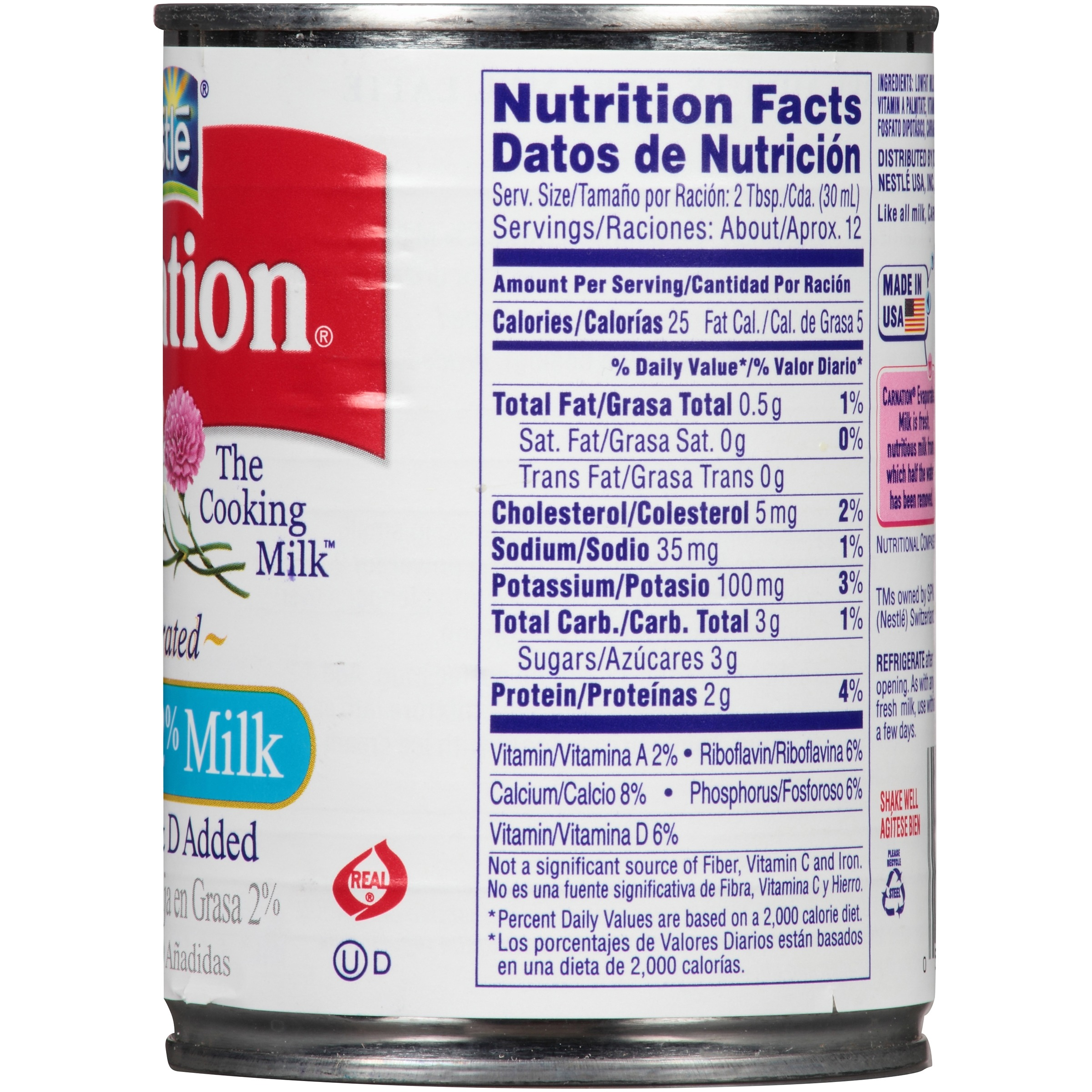 Protein Shaker Target Australia: Non Fat Condensed Milk Nutrition Facts