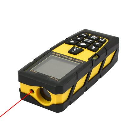 131ft 40M Digital Laser Distance Meter Measure Rangefinder Yellow w Tripod - image 2 of 8