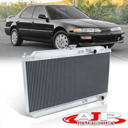 For 1990-1993 Acura Integra (Manual Transmission) Performance 2-Row Dual Core Aluminum Radiator - DA DB B16 B17 B18 M/T 91 92