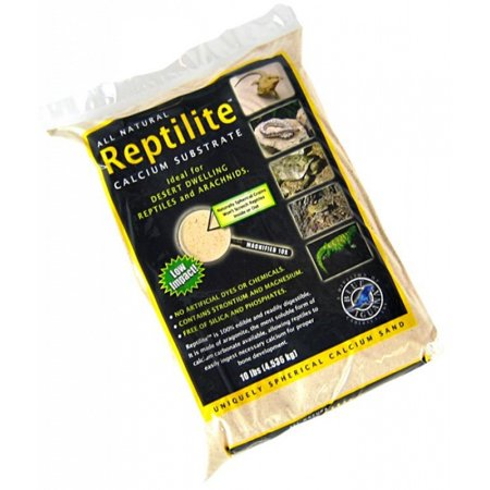 Blue Iguana Reptilite Calcium Substrate for Reptiles - Aztec Gold 40 lbs - (4 x 10 lb