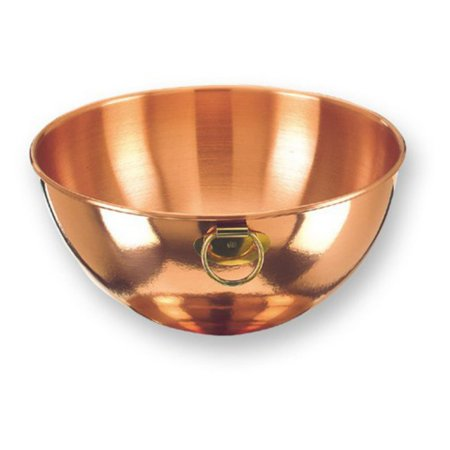 Old Dutch Solid Copper Beating Bowl - 4.5 qt.