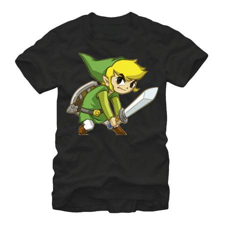- Nintendo Men's Legend of Zelda Spirit Tracks Link T-Shirt