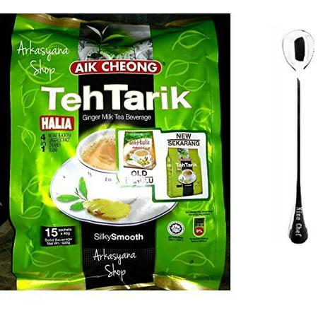 Aik Cheong Ginger 4in1 Teh Tarik Milk Tea Beverage (1 Pack)+ one NineChef