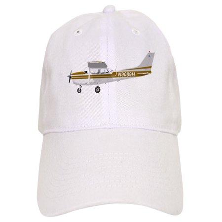 CafePress - Cessna 172 Skyhawk Brown - Printed Adjustable Baseball Cap