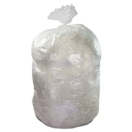 Roll Contractor (TheSafetyHouse Clear Trash Disposal Bags Heavy Duty 5 Mil Thickness 75 / Roll Extreme Strength Contractor Bags )