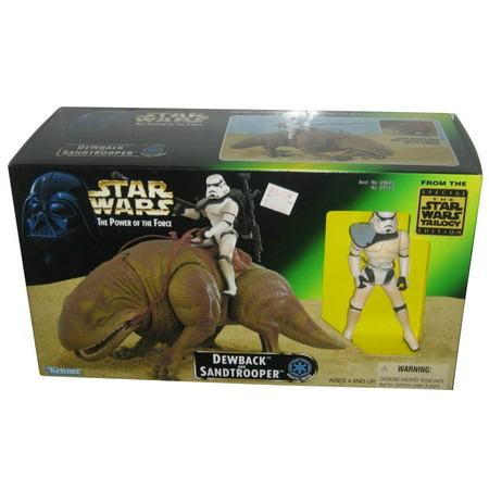 Star Wars Dewback (Star Wars Beast Pack Dewback & Sandtrooper Figure Toy Vintage)
