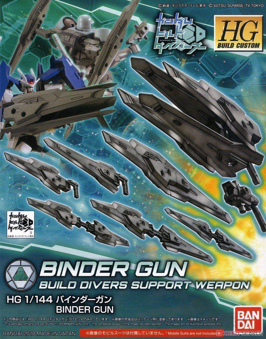 Gundam Build Divers Binder Gun HGBC 1 144 Scale Model Kit by Bandai Hobby