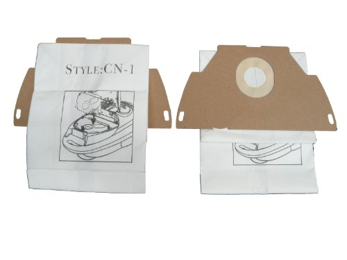 GE Canister CN-1 Vacuum Bags Microfiltration with Closure 3 Pack
