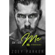 Don't Ruin Me - eBook