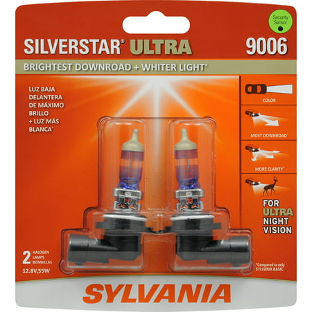 Sylvania 9006 Silverstar Ultra Halogen Headlight Bulb Pack Of 2