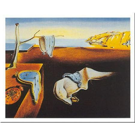 Persistence Of Memory by Salvador Dali 28x39 Art Print (Dali Memory)