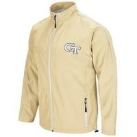 "Georgia Tech Yellowjackets NCAA ""Barrier"" Men's Full Zip Wind Jacket"