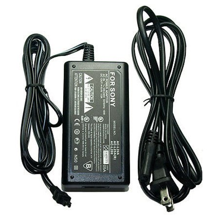 AC Adapter for Sony DCR-DVD810E ac, Sony DCRDVD810E ac, Sony DCR-DVD850E Equivalent Compact AC Power Adapter for Sony AC-L20, AC-L20A, AC-L20B, AC-L20C, AC-L25, AC-L25A, AC-L25B, AC-L25C, AC-L200, AC-L200B, AC-L200C, AC-L200D - 110/240v AC Adapter for Sony DCR-DVD810E DCRDVD810E DCR-DVD850EComes with a 1-Year WarrantyNot made by Sony