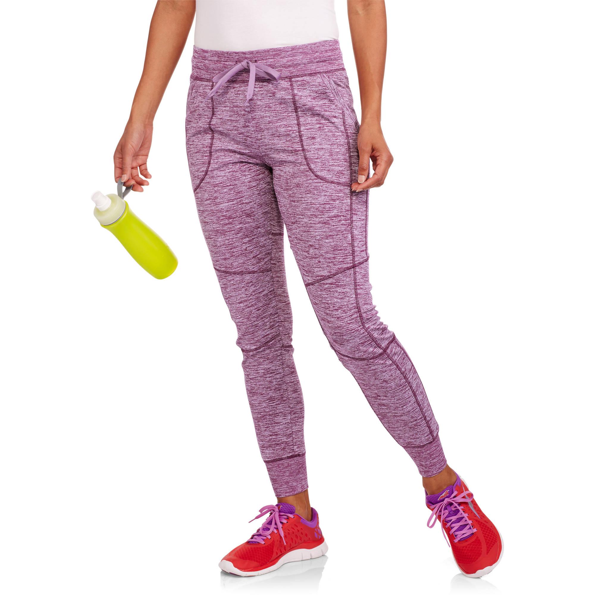 Danskin Now Women's Tech Fleece Jogger with Front Pockets