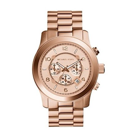 MK8096 Men's Runway Rose Gold-Tone Stainless Steel Watch - Mens Rose Gold Tone Watch