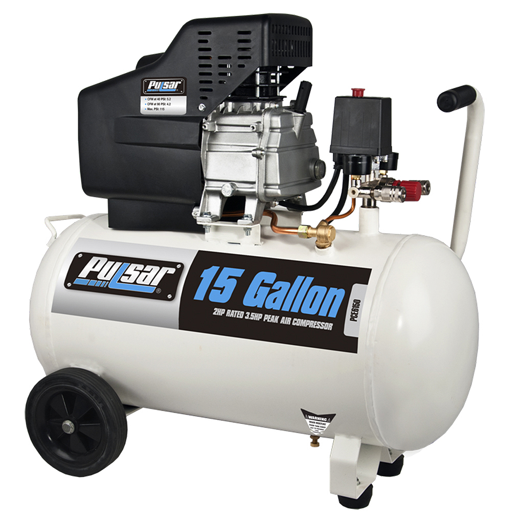 Pulsar PCE6150 15 Gallon 115 PSI Air Compressor