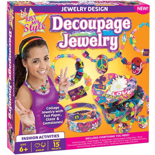 Just My Style Decoupage Jewelry