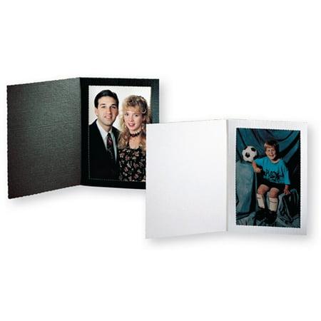 Picture folder frame senior slip-in ebony 4x6