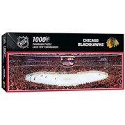 MasterPieces - Chicago Blackhawks Stadium Panoramic Puzzle, 1000 Pieces