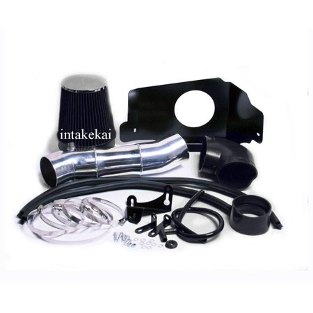 HEATSHIELD Cold AIR Intake KIT + Filter FIT for 2005 2004 2005 2006 2007 2008 2009 Ford Mustang GT 4.6 4.6L V8 Engine AIR INTAKE KIT SYSTEMS