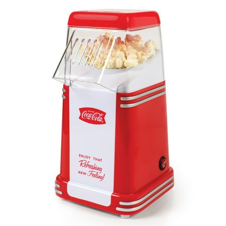 Nostalgia RHP310COKE Coca-Cola Series Mini Hot Air Popcorn Popper