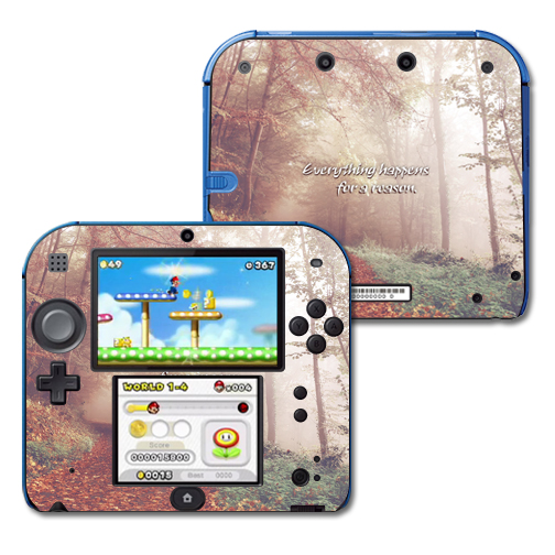 Mightyskins Protective Vinyl Skin Decal Cover for Nintendo 2DS wrap sticker skins Happens For A Reason