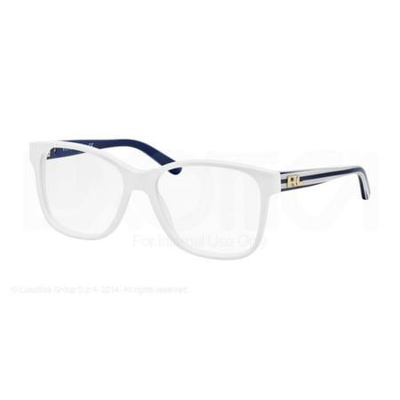 7a13ea80990b Authentic Polo Ralph Lauren Eyeglasses RL6120 5229 White Blue Frame 52mm  Rx-ABLE