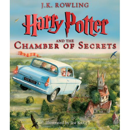 Harry Potter And The Chamber Of Secrets  The Illustrated Edition  Book 2   Hardcover