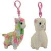 TY Beanie Babies Swirls /& Lilli Easter Key Clip Stuffed Plush Toy NEW