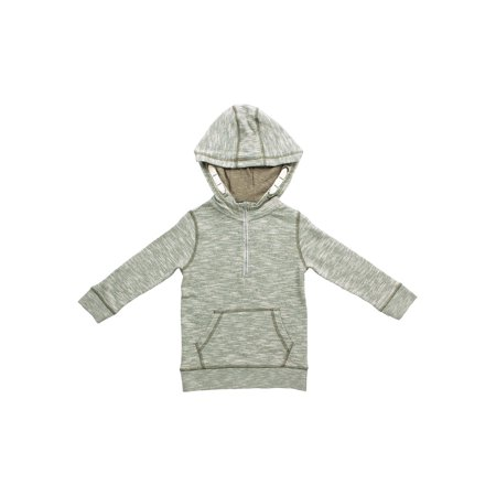 Bear Camp French Terry Marled Half Zip Pullover (Little Boys and Big Boys)