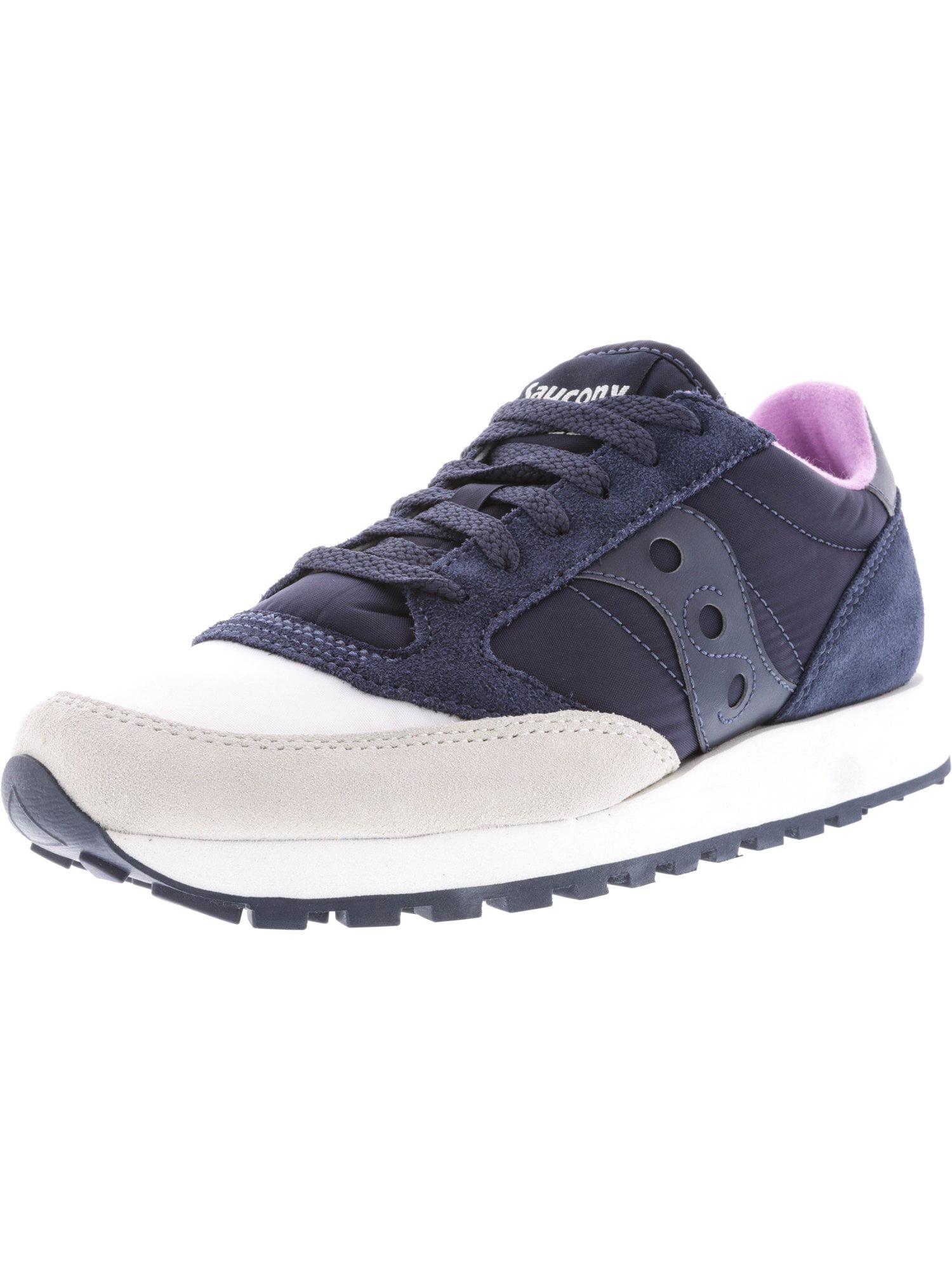 Saucony Women's Jazz Original Cream / Navy Ankle-High Running Shoe - 9.5M