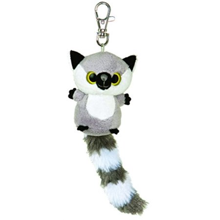 aurora world plush - yoohoo friends clip on - lemur (