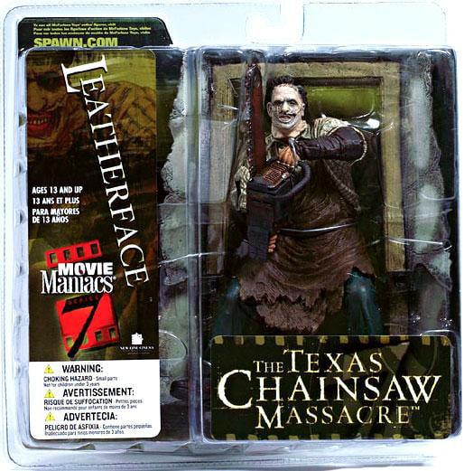 McFarlane The Texas Chainsaw Massacre Movie Maniacs Series 7 Leatherface Action Figure