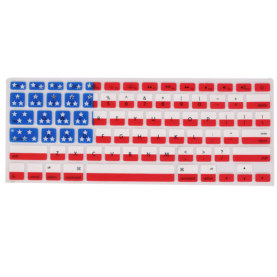 Notebook American Flag Keyboard Cover Film Protector for Apple MacBook Air 13.3""