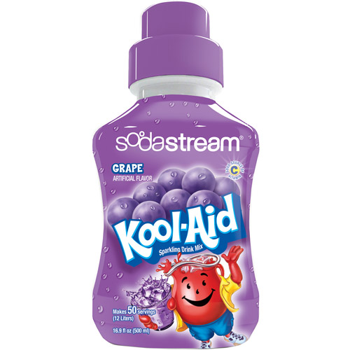 SodaStream Grape Kool Aid Soda Mix, 500mL