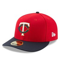 Minnesota Twins New Era Alternate 2 Authentic Collection On-Field Low Profile 59FIFTY Fitted Hat - Red/Navy
