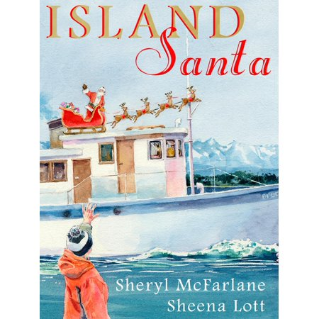 Island Santa - eBook Written and illustrated by local best-selling childrens author and illustrator team of Sheryl McFarlane and Sheena Lott (Jessies Island), Island Santa is based on the annual transformation of philanthropist Kaare Norgaards ship, the Blue Fjord, into a floating sleigh that delivered Christmas gifts to Gulf Islands children in need. The story links the historical philanthropy of Kaare Norgaard to the current day philanthropy of Jeneece Edroff, who was the inspiration for Jeneece Place, a 10-bedroom home away from home for families travelling to Victoria for their childs medical care. Jeneece Place appears in the second last illustration in Island Santa, in the reunion scene between the protagonist and his father. Island Santa was produced in 2012 by Childrens Health Foundation of Vancouver Island. Recommended reading ages 4-10