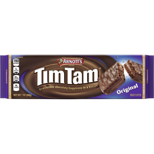 Arnott's Tim Tam Biscuits, Original, 7 Oz