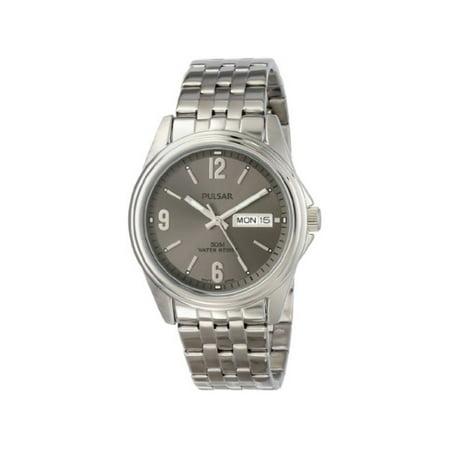 Pulsar Men's PV3001 Analog Display Japanese Quartz Silver Watch ()