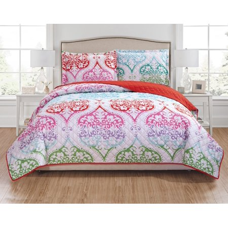 Milo 3-Piece Reversible Quilt Set - Queen ()