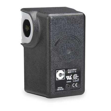 "CONDOR USA, INC 11EAXX Pressure Switch, DPST, 80/100 psi, 1/4""FNPT"