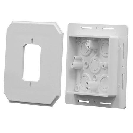 Arlington Industries - 8081F - Siding Box Kit - Fixtures And Receptacles (Receptacle Box)