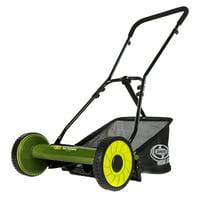Deals on Sun Joe MJ500M Manual Reel Mower w/ Grass Catcher
