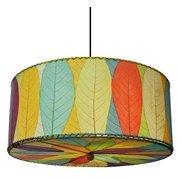 Hanging Drum Pendant in Multicolor