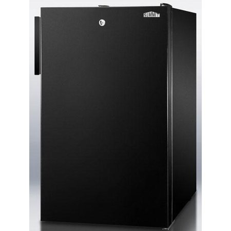 CM421BL 20 Medically Approved Compact Refrigerator with 4.1 cu. ft. Capacity  Manual Defrost