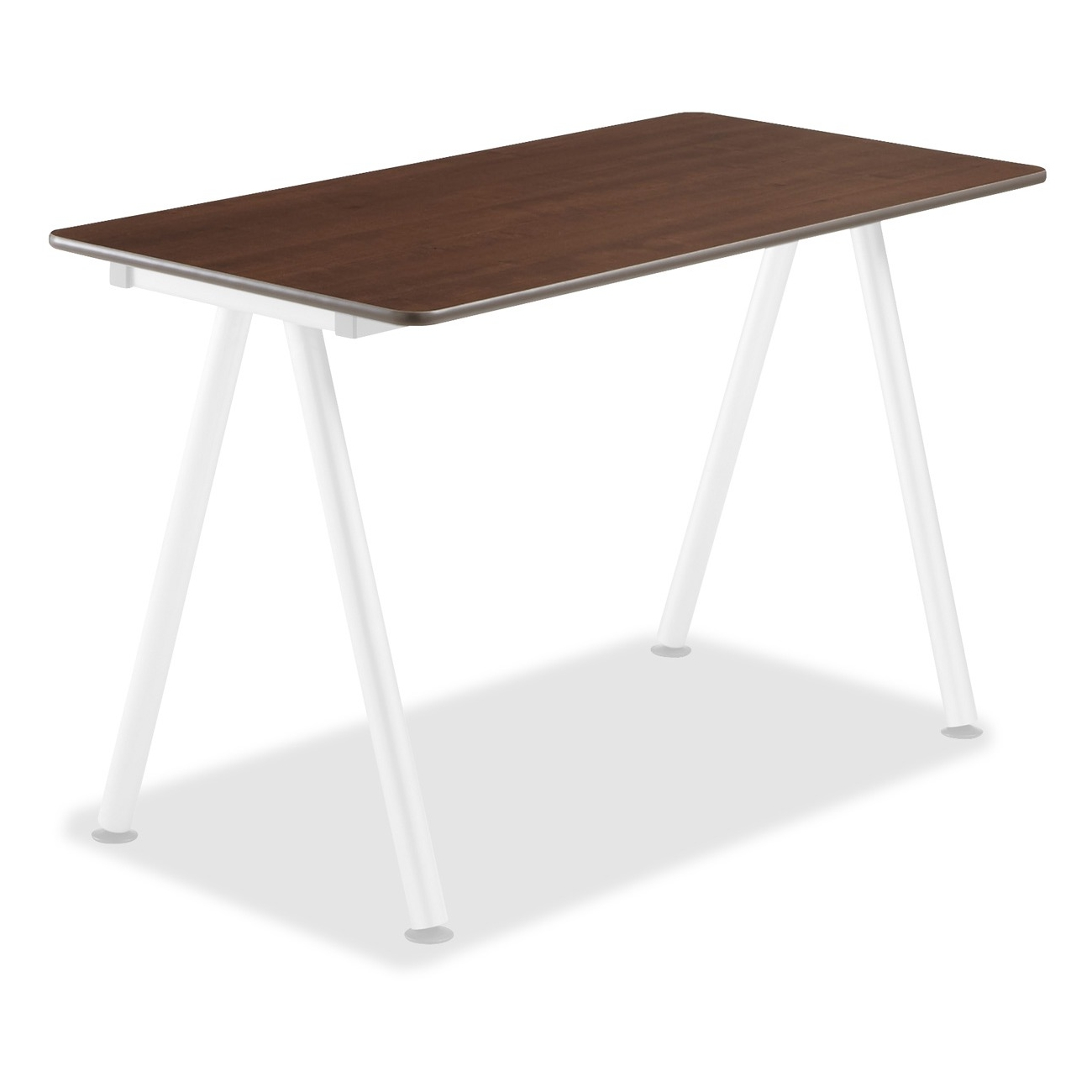 """Iceberg Officeworks Teaming Table Top - Rectangle - 24"""" X 48"""" - Gray Top (68207)"""