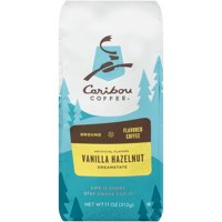 Caribou Coffee Vanilla Hazelnut Ground Coffee 11 oz. Stand-Up Bag