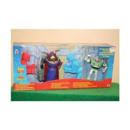 Toy Story Zurg (Disney TOY STORY 2 ALs Toy Barn Battle Set ROCK'EM SOCK'EM Robots Buzz Lightyear Evil Emperor Zurg New In Box International Version Rare Hard to Find)